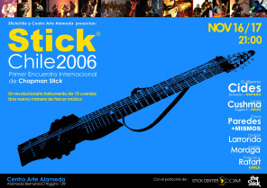 Afiche Encuentro Internacional Stick 2006